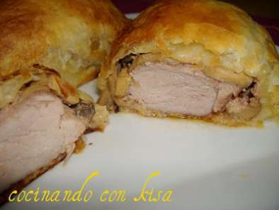 Receta Solomillo wellington