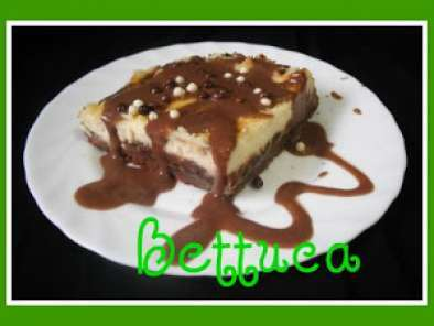 Receta Tarta de queso fresco y chocolate