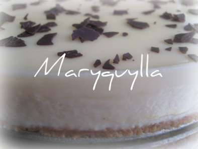 Receta Tarta chocolate blanco