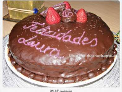 Receta Placer adulto: tarta de chocolate y naranja (chocolate and orange cake)
