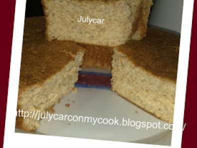 Receta Angel food cake integral