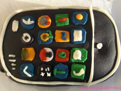 Receta Tarta iphone