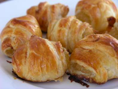 Receta Mini croissants de cabello de angel