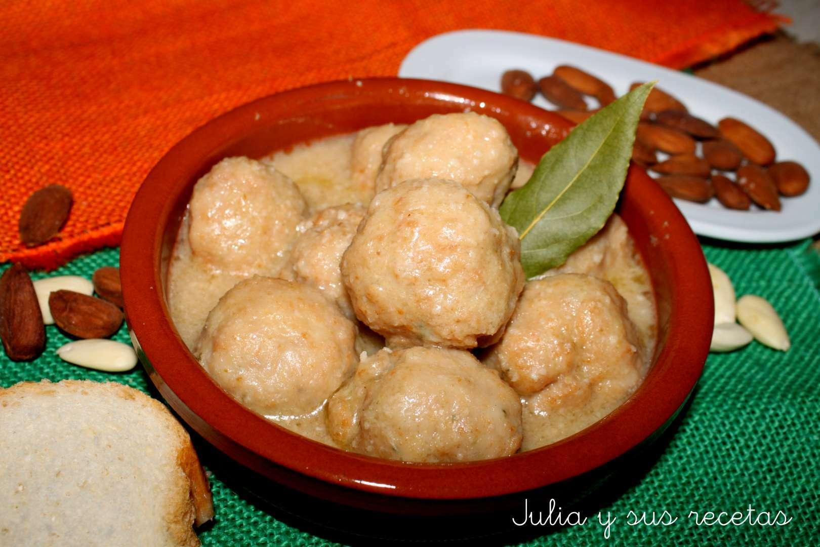 Alb ndigas con salsa de almendras receta petitchef - Acompanamiento para albondigas ...