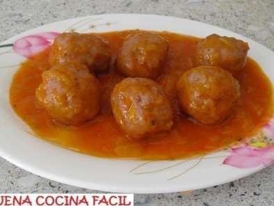 salsa de tomate para albondigas