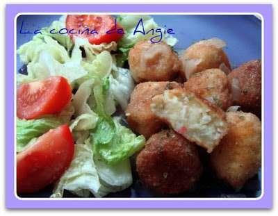 Alb ndigas de bacalao y patata receta petitchef - Albondigas de patata ...