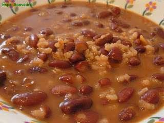 Alubias pintas con arroz receta petitchef - Arroz con judias pintas ...