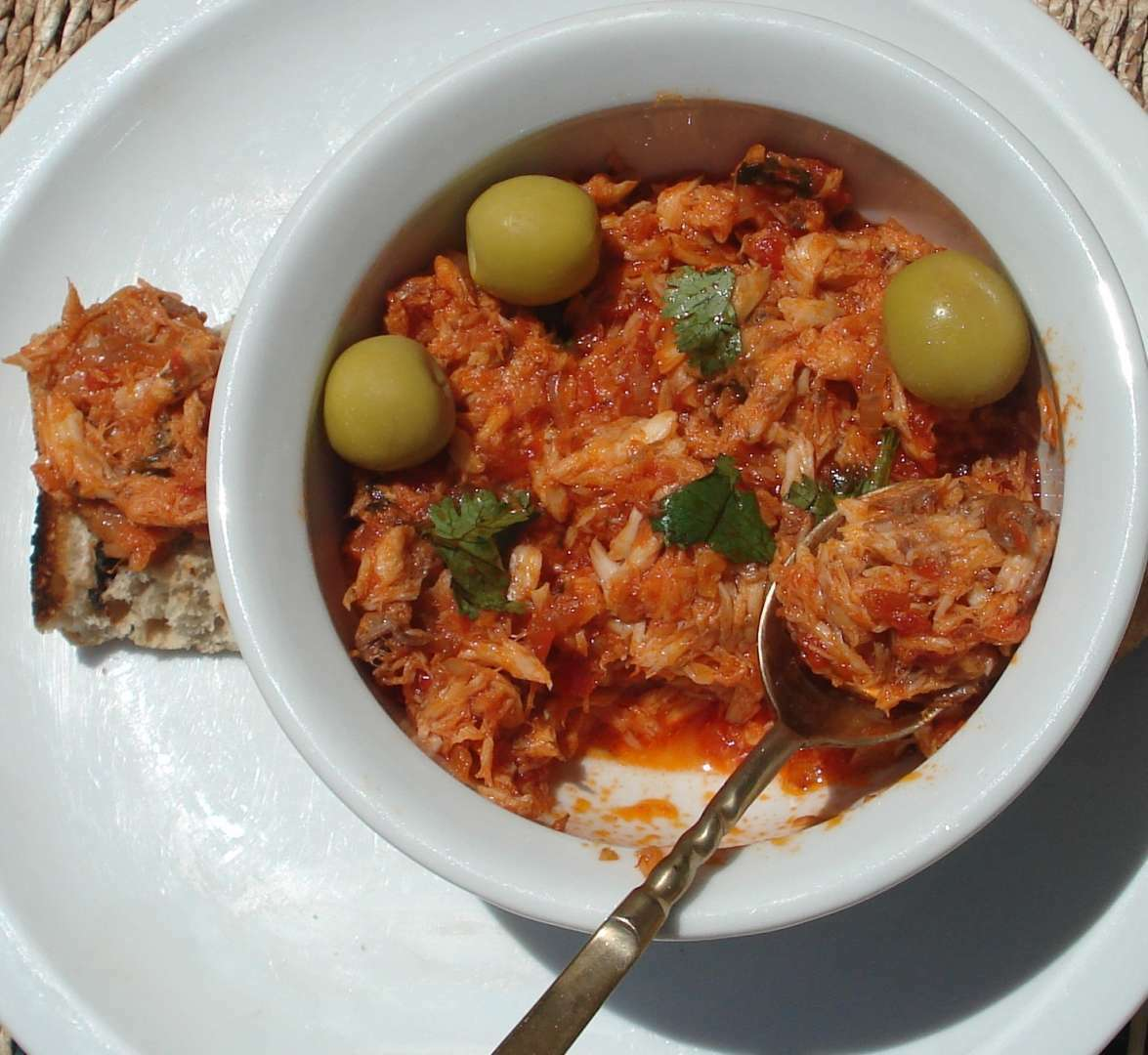 Aperitivo de jurel receta petitchef for Cocinar jurel