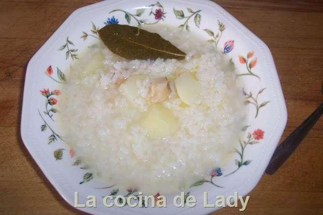 Arroz blanco con bacalao receta petitchef - Arroz blanco con bacalao ...
