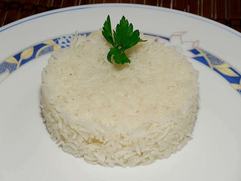 cocinar arroz blanco en thermomix