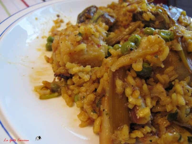 receta arroz con bacalao y coliflor