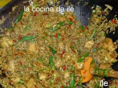 Arroz salteado de pollo receta petitchef - Salteado de arroz ...