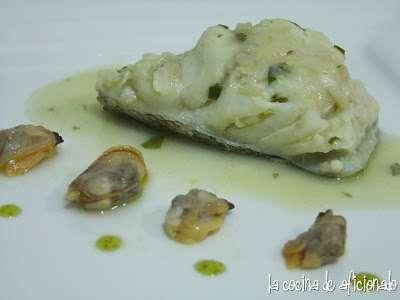Bacalao fresco en salsa verde con almejas receta petitchef - Almejas con salsa verde ...