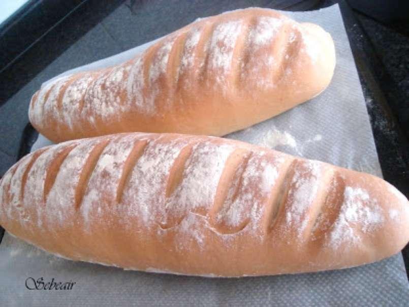 Calorias barra de pan blanco