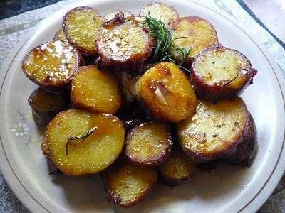Batatas Caramelizadas Receta Petitchef