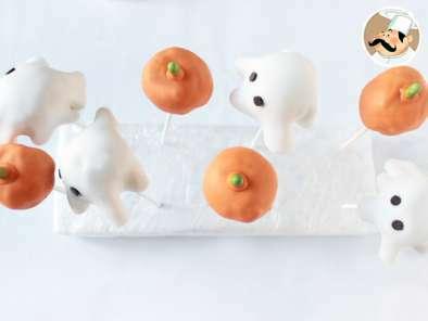 Cake pops con decoración halloween, Receta Petitchef