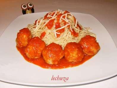 La Cocina De Lechuza Albondigas | Cocina Basica Espaguetti Con Albondigas En Salsa De Tomate Receta