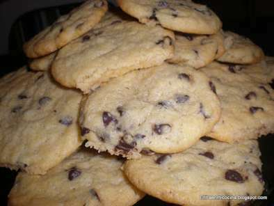COOKIES DE CHOCOLATE / COOKIES AU CHOCOLAT