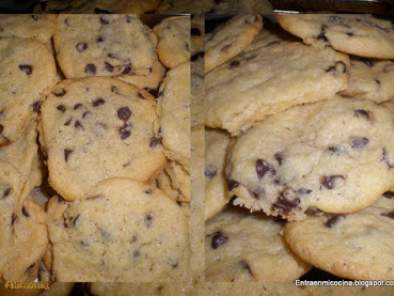 COOKIES DE CHOCOLATE / COOKIES AU CHOCOLAT, foto 2