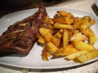 Costillas de cerdo al horno con patatas receta petitchef - Patatas con costillas de cerdo ...
