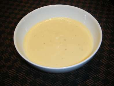 crema de calabacin con quesitos sin patata