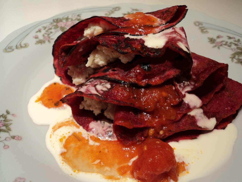 Crepes de remolacha con ricota receta petitchef for Cocinar remolacha