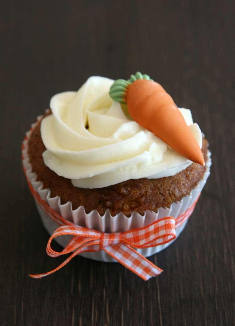 Cupcakes de zanahoria, Receta Petitchef