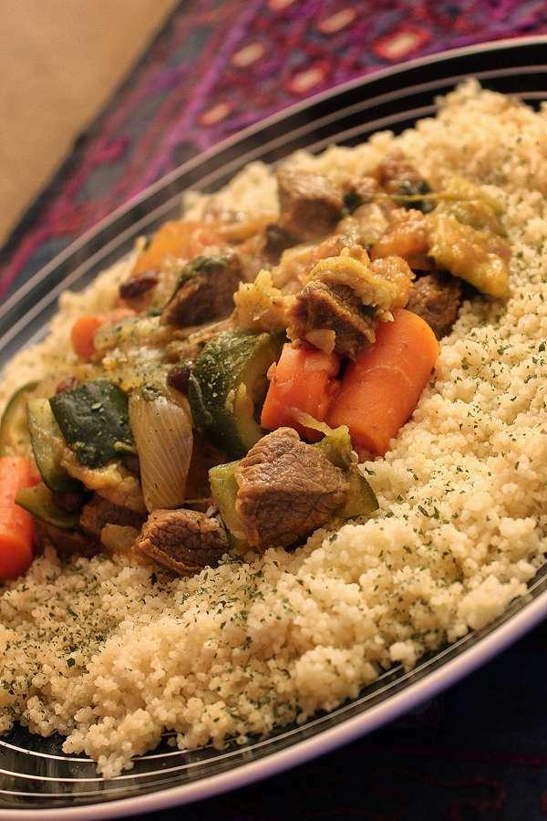 Cuscus De Ternera Y Verduras Receta