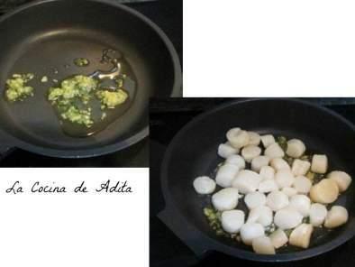 Cocinar Vieiras Plancha | Ensalada Con Vieiras Y Huevo A La Plancha Receta Petitchef