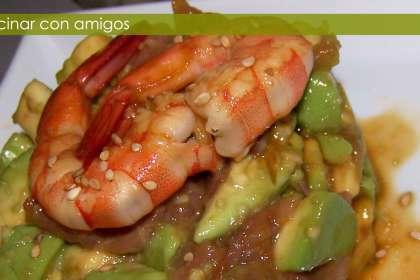 Ensalada de salm n y aguacate receta petitchef - Ensalada salmon y aguacate ...