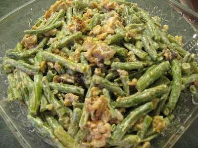 Ensalada de vainitas y frutos secos, Receta Petitchef