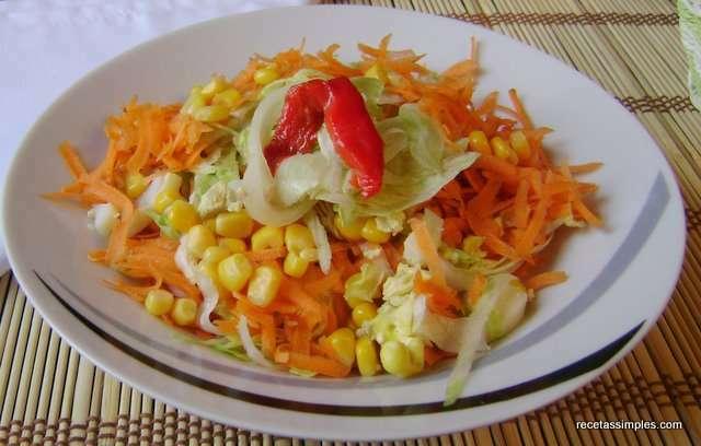 Ensalada de zanahoria y choclo receta petitchef - Ensalada de apio y zanahoria ...