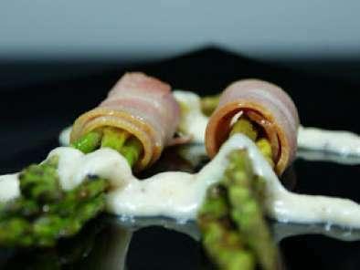 Espárragos envueltos en bacon, Foto 2