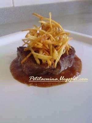 Filet de vedella amb salsa de kiwi i cruixent de patata - Vedella amb bolets olla express ...
