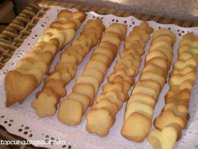 Galetes de mantega - Galletas de mantequilla