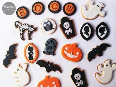 Galletas cookies halloween decoradas Receta Petitchef