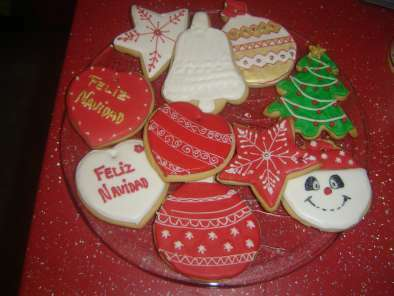 Imagenes De Galletas De Navidad Decoradas.Galletas Navidenas Decoradas