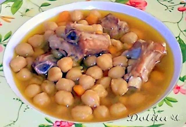 Garbanzos con costillas receta petitchef - Garbanzos con costillas ...