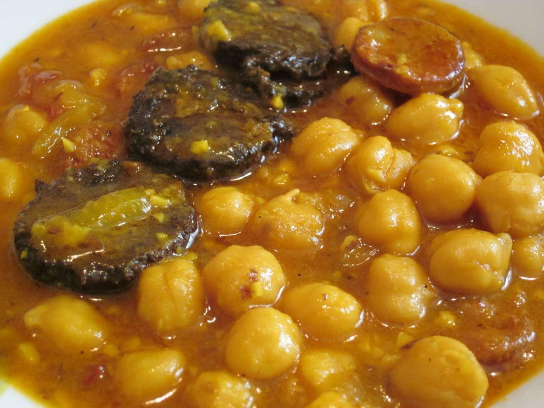 Garbanzos con morcilla y chorizo receta petitchef for Cocinar garbanzos con chorizo