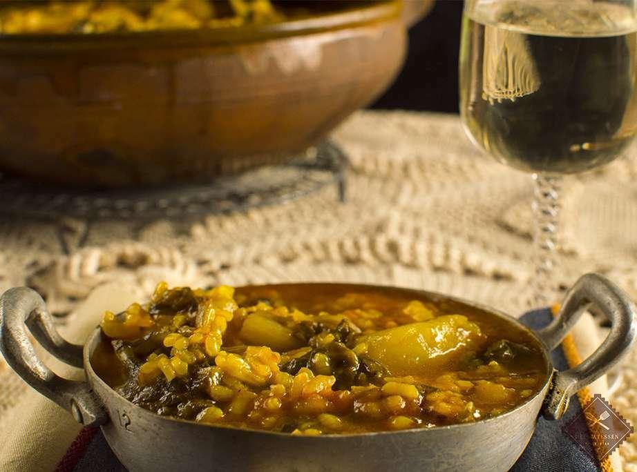 Guiso casero de arroz con acelgas receta petitchef - Guisos caseros faciles ...