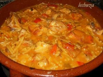 Guiso de pollo de corral con fideos receta petitchef - Pollo de corral guisado ...