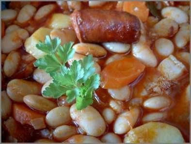 Jud as blancas con chorizo receta petitchef - Judias con chorizo y patatas ...