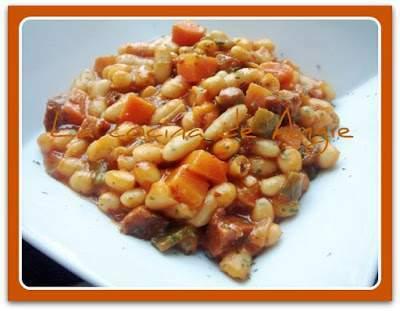Jud as blancas el hostal receta petitchef for Cocinar judias blancas