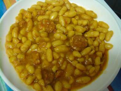 Judias con chorizo receta petitchef - Judias con chorizo y patatas ...