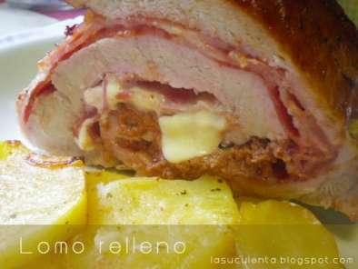 Lomo de cerdo ib rico relleno al horno receta petitchef Solomillo iberico al horno