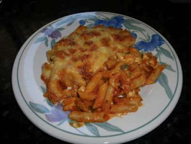Macarrones con pollo al horno receta petitchef - Macarrones con verduras al horno ...