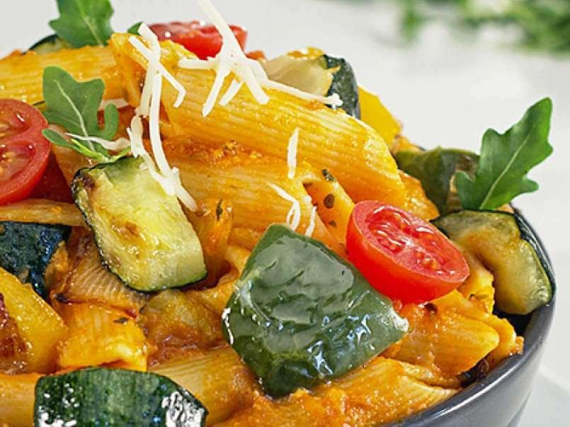 Macarrones Con Verduras Al Parmesano Receta Petitchef