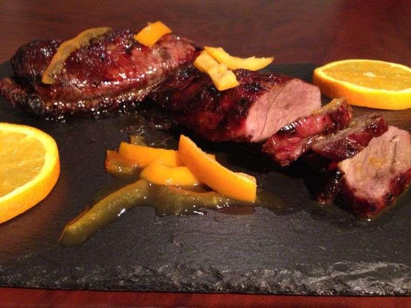 Magret de pato a la naranja receta petitchef for Pato a la naranja