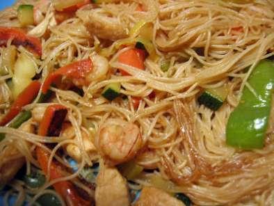 Fideos de arroz fritos con verdura receta petitchef for Cocinar fideos de arroz