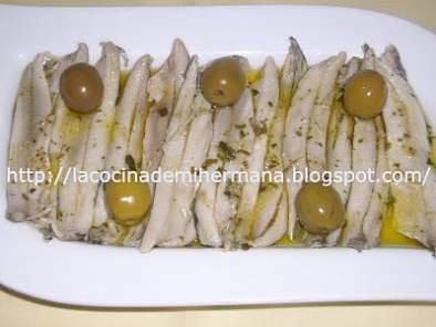 Boquerones en vinagre receta petitchef - Calorias boquerones en vinagre ...